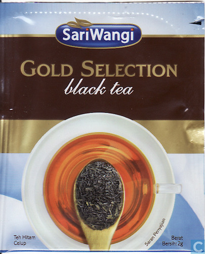black tea sariwangi