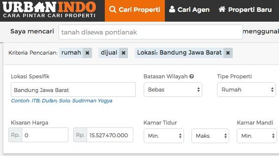 Rumah Dijual di Bandung Jawa Barat