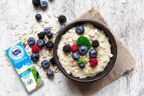 sarapan sehat susu rendah lemak