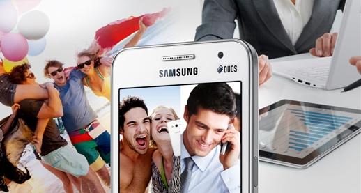 Samsung Handphone Dual SIM