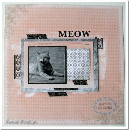 """, Pozlotowy koci """"meow"""" – LO"""