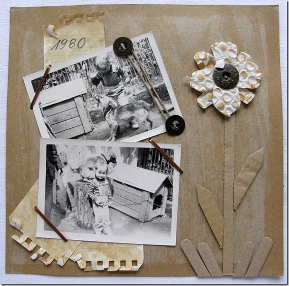 scrapbooking - LO (layout)