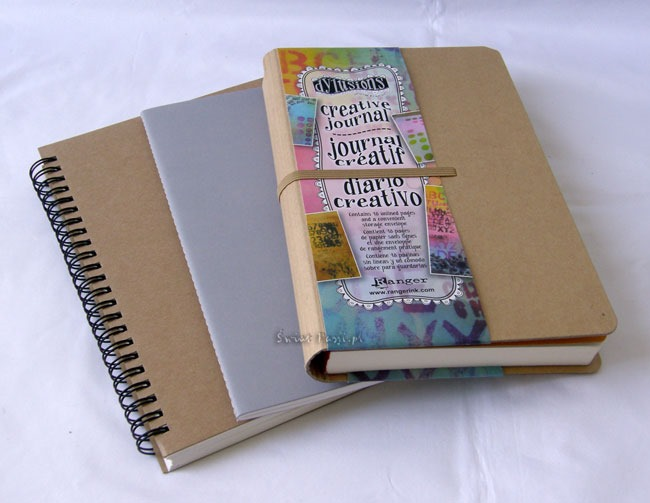 art journaling - kupne