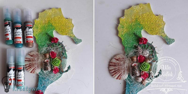 , Konik morski z mgiełkami