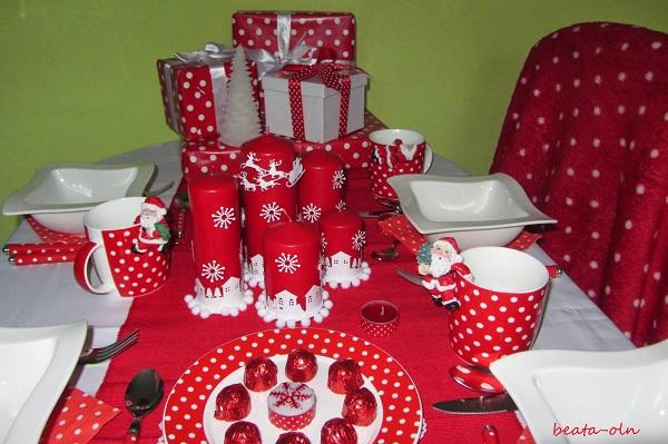 grudzień, świąteczne przyjęcie