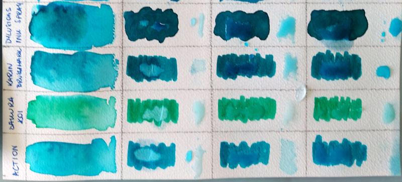 MicroGlaze, wosk bezbarwny i wazelina - papier akwarelowy 3