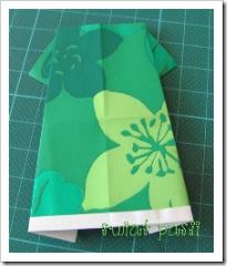 , letnia sukienka – origami
