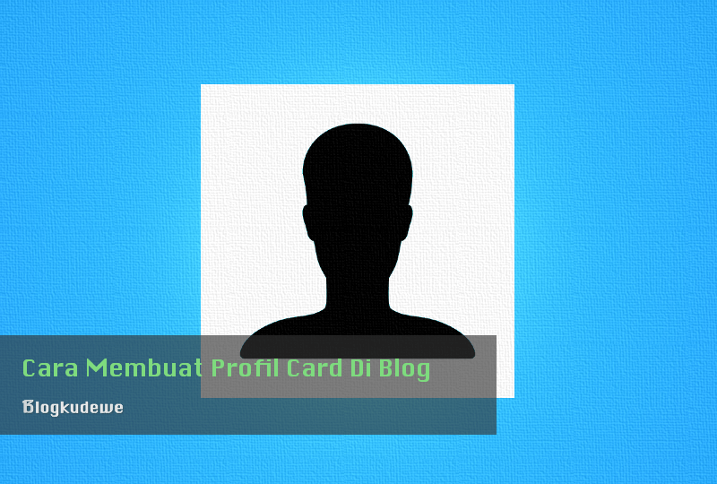 Profil card Blog
