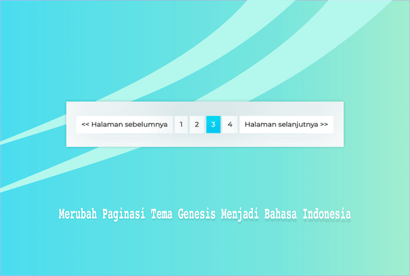Paginasi Genesis Bahasa Indonesia