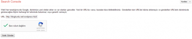 Wordpress hızlı indexleme WordPress hızlı indexleme