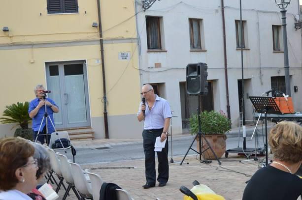 """Elvio Angeletti, ideatore del premio """"Poesie del Borgo"""""""