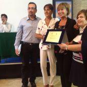 Lorenzo Spurio (Presidente di Giuria), Susanna Polimanti, Rosanna Giovanditto (Vincitrice del Premio Speciale Renato Pigliacampo) e Rosanna Di Iorio