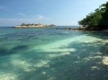 Kawałek plaży na zachód od D'lagoon
