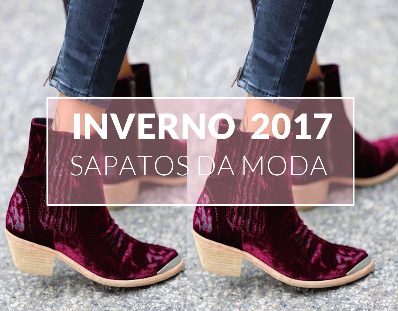 MODA 2017 INVERNO I SAPATOS