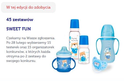 Znalezione obrazy dla zapytania zestaw sweet fun canpol babies 2 butelki 2 kubki i smoczek