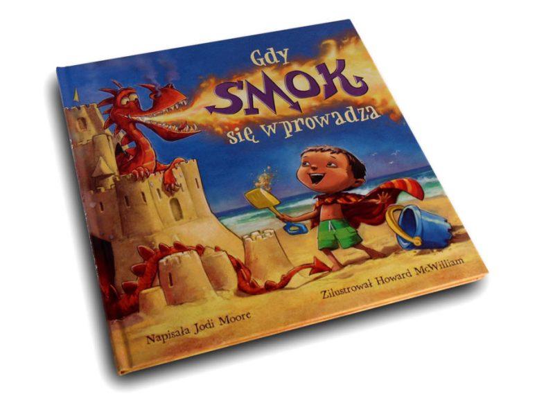 wyobraźnia książka gdy smok się wprowadza