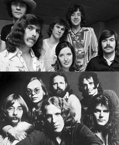 Steeleye Span & Steely Dan - (aan het haar te zien ergens halverwege de jaren zeventig) (197.)
