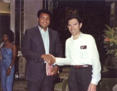 Ron Mael - met Muhammad Ali (198.)