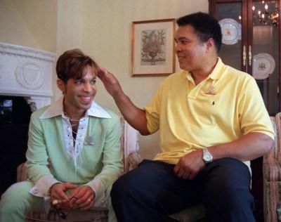 Prince - met Muhammad Ali (1997)
