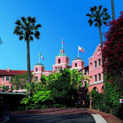 Eagles - Hotel California (The Beverly Hills Hotel van de albumhoes) (1976)