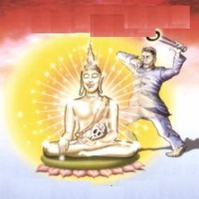 Molding - Buddha tormented by Pol Pot (2008)
