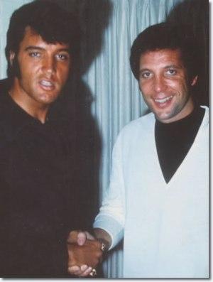 Elvis Presley & Tom Jones (1969)
