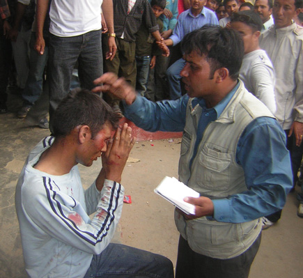 Nepali Congress activist beaten up