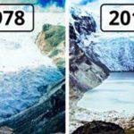 Földünk akkor és most. Hihetetlen felvételek a NASA-tól