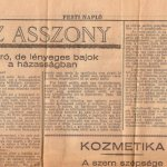 Az asszony… (tanácsok feleségeknek 1931-ből)… érdemes elolvasni!