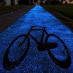 Lengyelország zseniális kerékpárutat épített! Ragyogó ötlet!