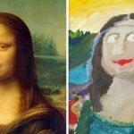 Gyermekekkel rajzoltatták újra a világ leghíresebb festményeit