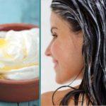 Természetes joghurt balzsam, amitől felgyorsulhat a haj növekedése és gyönyörű fénye lesz