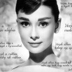 Audrey Hepburn 10 szépségtippje