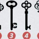 Te melyik kulcsot választod? Félelmetesen fontos dolgot árul el rólad