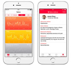 iOS: Salud, la app de Apple para iPhone