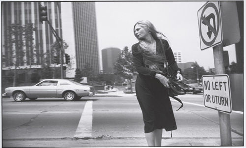 Garry Winogrand. Los Ángeles, 1980-1983  Gelatina de plata  Garry Winogrand Archive, Center for Creative Photography, University of Arizona  © The Estate of Garry Winogrand, cortesía Fraenkel Gallery, San Francisco