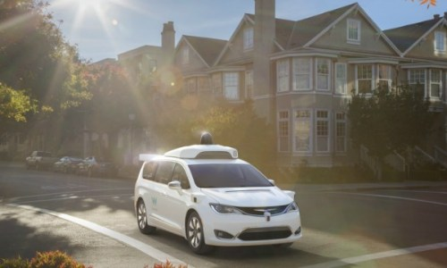 Google Waymo Chrysler Pacifica