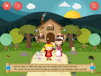 Little Red Riding Hood  Games   Story  An Updated Version of the     Little Red Riding Hood   Games   Story 2