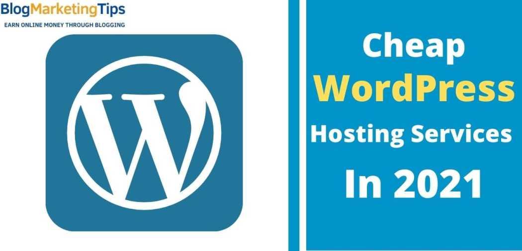 Cheap wordpress hosting services