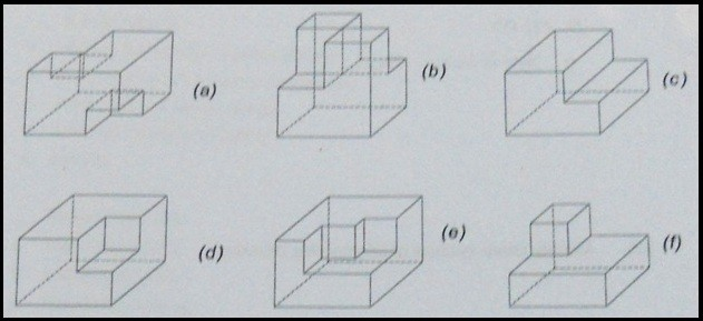 03834 01 isometric drawing 3rd angle projection isometric projection fundamentals of mechanical engineering multiple choice questions Interview Questions Mechanical Engineering Multiple choice Questions