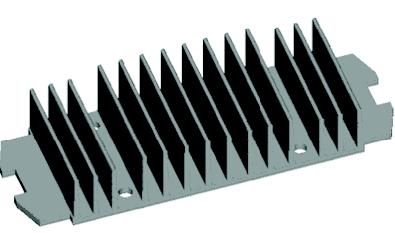 01-Aluminium Heat Sink-Semiconductor Heat Sink-Passive Heat Exchanger