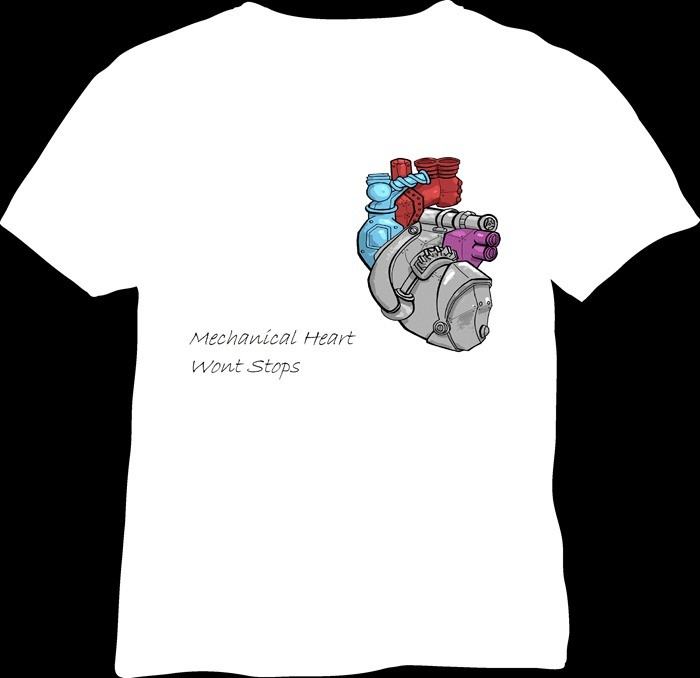 Mechanical-Heart-Engineering-T-Shirt-Codes-Engineering-T-Shirt-For-Design-Competition