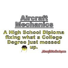 33908 01 aircraft mechanics design Engineering T-Shirts T-Shirt Logo