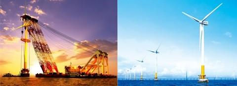 438cf 01erectionofwindturbinesinoffshoreandonshorepatentedtechnologieslowvoltageridethrotechnologiesma conventional energy Mechanical Engineering