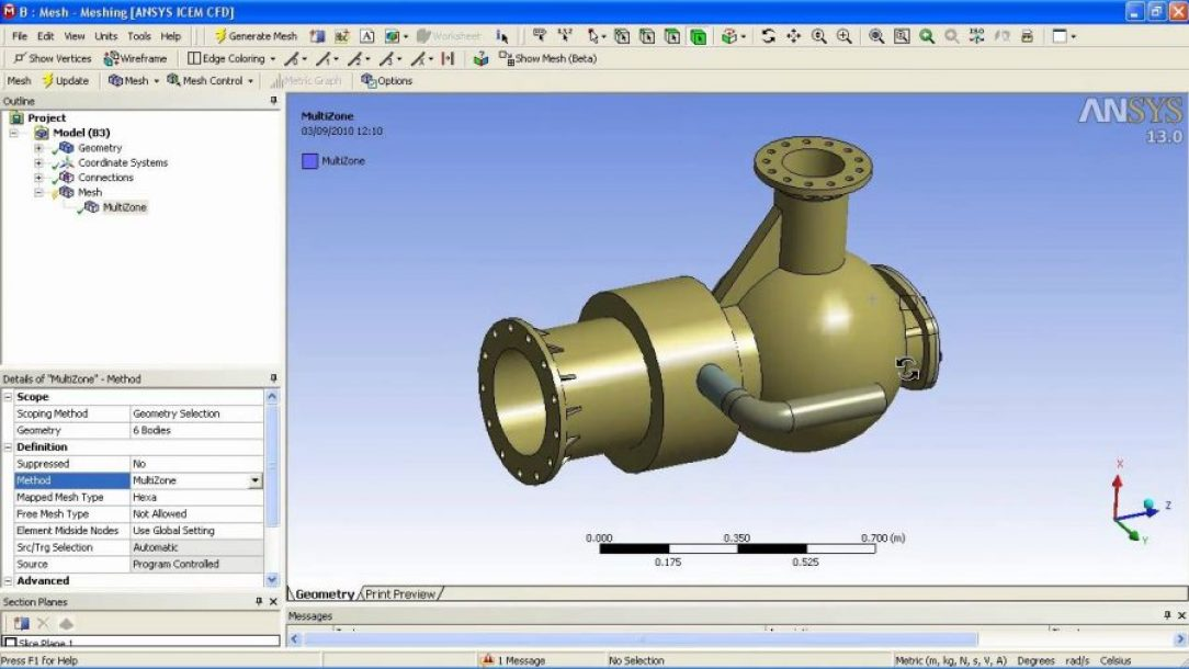 438d5 01 ansys worbench simulation simulation wizard ANSYS ANSYS ANSYS Mechanical Workbench