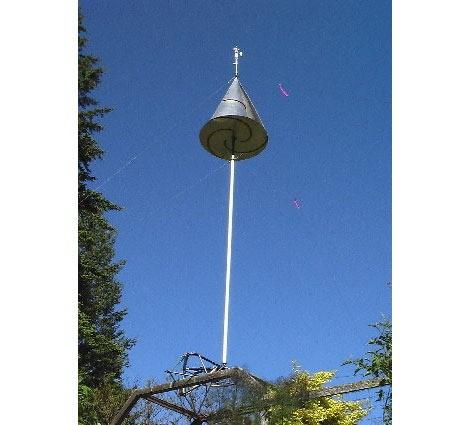 08-Spiral Drag Wind Turbine