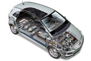 Fuel Cell Powered Electric Vehicles | Mercedes Benz F-CELL World Drive