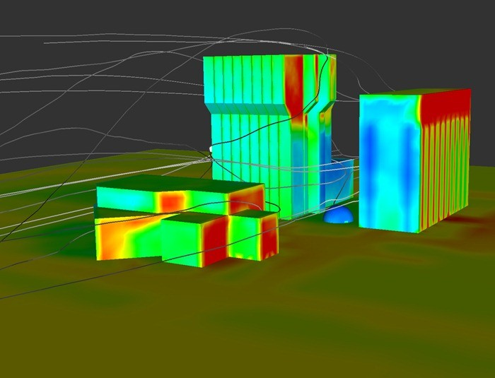 cfd_thermal_analysis_wind_loads-calculation-wind-analysis-in-high-rise-structure-architectural structural analysis
