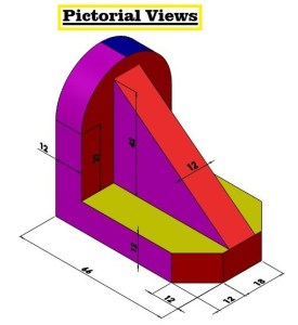 How To Draw Orthographic Views In AutoCAD | AutoCAD Orthographic Views