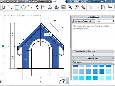 01-Autocad-Free-Style-Software-Preview